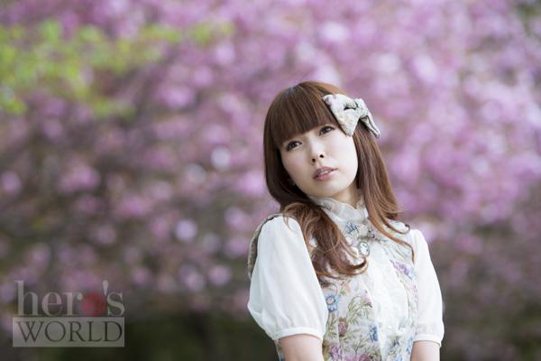 桜に憶う_小林里緒